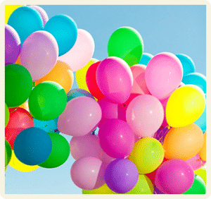 Baloane asortate
