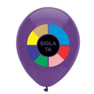 Baloane personalizate 1 fata 8 culori