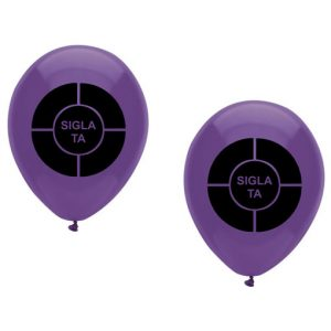 Baloane personalizate 2 fete 1 culoare