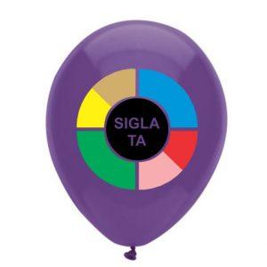Baloane personalizate 1 fata 7 culori